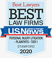 Best Lawyers - Best Law Firms | U.S. News | Personal Injury Litigation - Plaintiffs - Tier 1 - Stamford | 2020